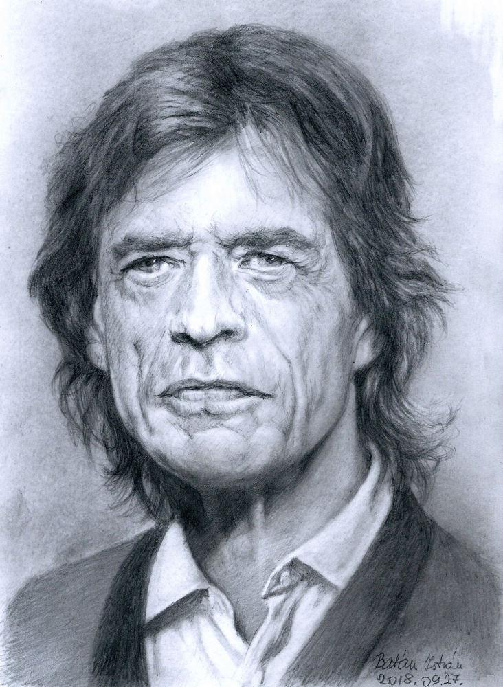 Mick Jagger por bati